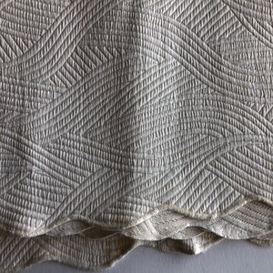 Colchas Domingas Cotton Quilted Coverlet Twin